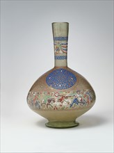 Enameled and Gilded Bottle