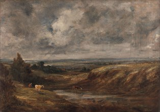 Hampstead Heath;The Thames Valley from Hampstead Heath (1829);Hampstead Heath: Branch Hill Pond, 1825 to 1830.