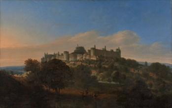 Windsor Castle from the South, after 1681. Perhaps Jan Griffier the Elder after Jan Vorsterman