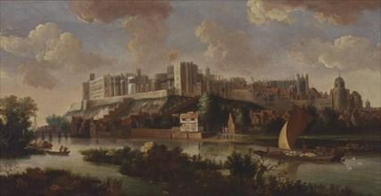 Windsor Castle Seen from the Thames, ca. 1700. after Jan Vorsterman
