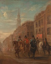 Restoration Procession of Charles II at Cheapside, ca. 1745.
