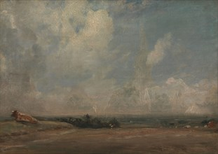 A View from Hampstead Heath (?);The Thames Valley from Hampstead Heath, ca. 1825.
