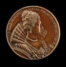 Charlotte-Marie de Montmorency, 1594-1650, Wife of Henri de Bourbon 1609 [reverse], 1611.