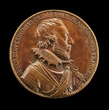 Henri II de Bourbon, 1588-1646, 3rd Prince of Condé, first Prince of the Blood [obverse], 1611.