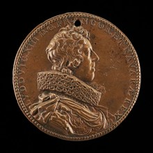 Louis XIII, 1601-1643, King of France 1610 [obverse], 1623.
