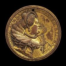 Marie de' Medici, 1573-1642, Queen Regent of France 1610-1617 [obverse], 1615. Acting regent during the minority of Louis XIII.