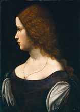 Portrait of a Young Lady, c. 1500.
