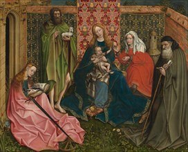Madonna and Child with Saints in the Enclosed Garden, c. 1440/1460.