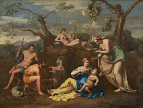 Nymphs Feeding the Child Jupiter, c. 1650.