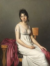 Portrait of a Young Woman in White, c. 1798.