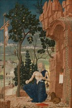 Saint Jerome in the Wilderness, c. 1475.