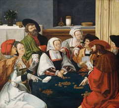 The Card Players, probably c. 1550/1599.