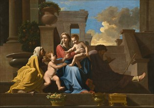 The Holy Family on the Steps, 1648.