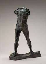 The Walking Man (L'Homme qui marche), model 1878-1900, cast probably 1903.