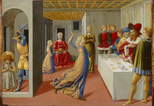 The Feast of Herod and the Beheading of Saint John the Baptist, 1461-1462.