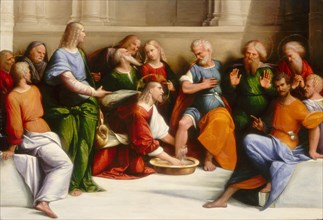 Christ Washing the Disciples' Feet, c. 1520/1525.