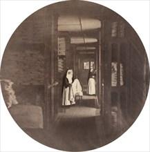 Asile Impérial de Vincennes: la Lingerie, 1859. Imperial Asylum at Vincennes
