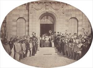 Asile Impérial de Vincennes: le 15 Août, le Salut à l'Empereur, 1859. Emperor Napoleon III