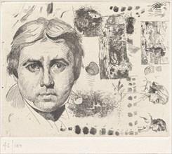 Portrait d'Ingres (Portrait of Ingres), 1844, printed 1982.