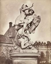 Statue des Tuileries: G. Marsy et A. Flamen: Borée enlevant Orythie, 1859.