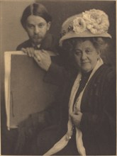 Alvin Langdon Coburn and His Mother, c.1909.