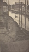 Telegraph Poles, c.1900.