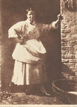 A Newhaven Fisherwoman, 1844.
