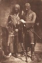 Afghan or Circassian Armour, 1843.