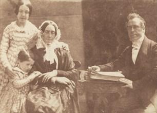 Rev Ebenezer Miller and family, 1843-1847.