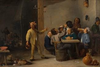 Peasants Celebrating Twelfth Night, 1635.