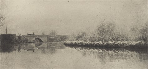A Frosty Morning at Coltishall, 1890-1891, printed 1893.