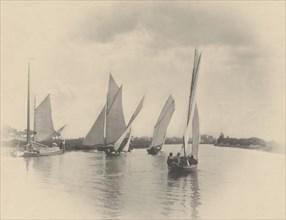 A Sailing Match at Horning, 1885.