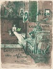 """Cover for the Album """"Paysages et intérieurs"""", 1899."""