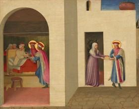 The Healing of Palladia by Saint Cosmas and Saint Damian, c. 1438/1440.