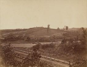 Battlefield in Atlanta, 1864.