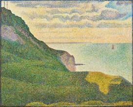Seascape at Port-en-Bessin, Normandy, 1888.