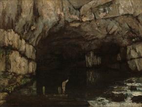 La Grotte de la Loue, 1864.