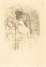 Anna Held and Baldy (Anna Held et Baldy), 1896.