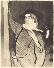 Aristide Bruant, 1893.