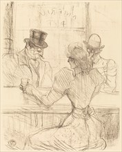 At the Picton Bar, rue Scribe (Au bar Picton, rue Scribe), 1896.