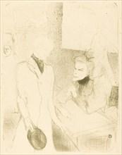 """Brandes and Le Bargy in """"Cabotins"""" (Brandès et Les Bargy dans """"Cabotins""""), 1894."""