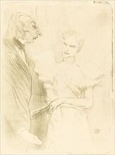 "Brandes and Leloir in ""Cabotins"" (Brandès et Leloir dans ""Cabotins""), 1894."