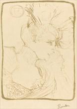 Bust of Mlle. Marcelle Lender (Mlle. Marcelle Lender, en buste), 1895.