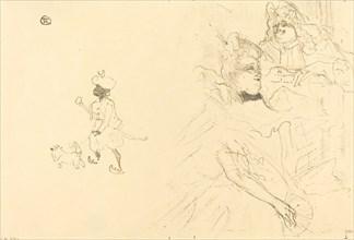 """Cover for """"L'example de Ninon de Lenclos amoureuse"""", 1897."""