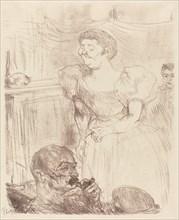 Di Ti Fellow - Englishmen at the Cafe-Concert (Di Ti Fellow - Anglaise au Café-Concert), 1898.