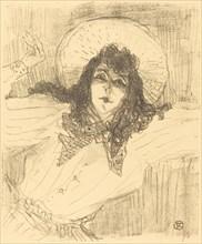 Eva Lavallière, 1896.