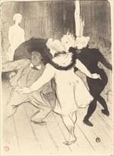 Folies-Bergere: The Censors of M. Prudhomme (Folies-Bergère: Les pudeurs de M. Prudhomme), 1893.
