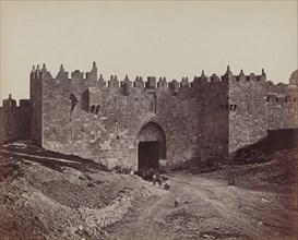 Porte de Damas, 1857.