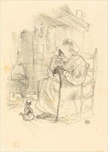 Le secret, 1895.