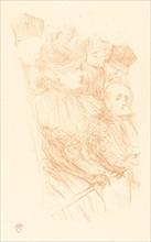 Lebaudy Trial - Testimony of Mlle. Marsy (Procès Lebaudy - Déposition de Mlle. Marsy), 1896.